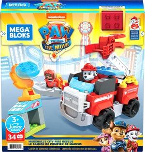 Modèle construction Les pompiers de Marshall de Paw Patrol