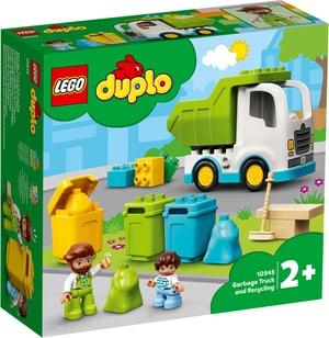 DUPLO® Müllabfuhr und Wertstoffhof 10945