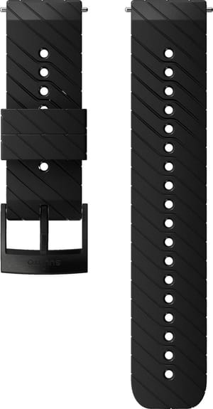 24MM Athletic 3 Silicone Strap M
