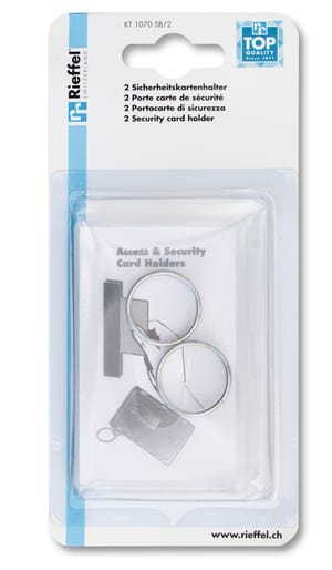 Access & Security Card Holders, 2 pezzi