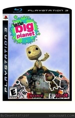 PS3 Konsole black 80GB+Little Big Planet