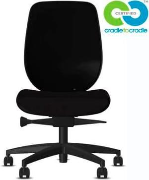 Chaise bureau 353-4029 C2C 353-4029 C2C noir, sans accoudoir