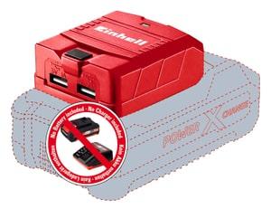 L'adattatore USB TE-CP 18 Li