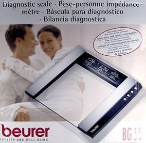 Beurer GLAS-DIAGNOSEWAAGE BG55
