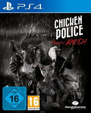 PS4 - Chicken Police: Paint it RED! D