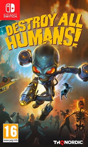 NSW - Destroy all Humans D