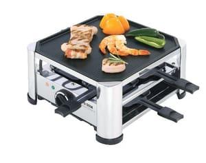 Appareil à raclette/gril pour 4