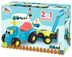Tracteur porteur remorque