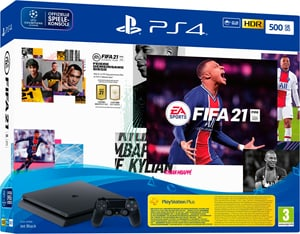 PlayStation 4 500GB Slim inkl. FIFA 21