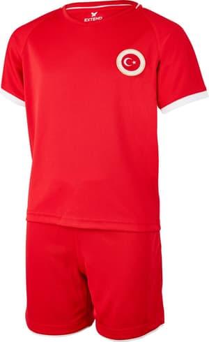 Completo da tifoso della Turchia