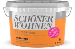 Trend Wandfarbe matt Mango 1 l