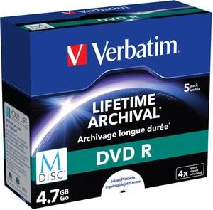 MDisc DVD R 4.7GB 4x 5er Jewel Case