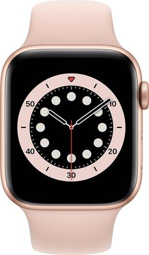Watch Series 6 GPS 44mm Gold Aluminium Pink Sand Sport Band