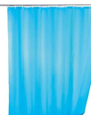 Duschvorhang Uni hellblau Anti-Schimmel