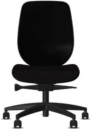 Chaise bureau 353-4029 353-4029 noir, sans accoudoir