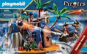 70556 Isola dei Pirati con Treasure Hideout