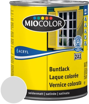 Acryl Buntlack seidenmatt Lichtgrau 125 ml