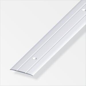Übergangsprofil 5 x 30 mm gelocht silberfarben 2 m