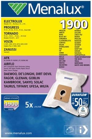 Staubsaugerbeutel Menalux 1900 5Stk