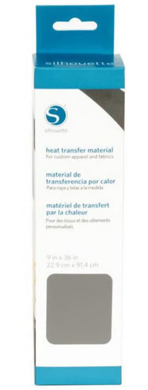Film thermocollant 22.9 cm x 91.4 cm Gris, lisse