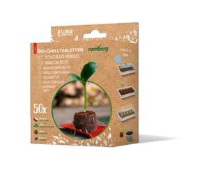 Kokos-Quelltabletten, 50 Stück