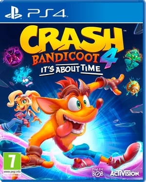 PS4 - Crash Bandicoot 4 : It`s About Time (I)