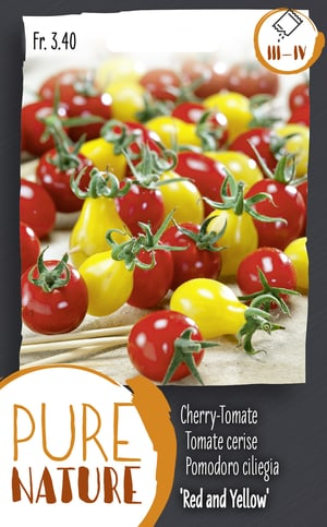 Cherry-Tomate 'Red and Yellow Pear' 50k