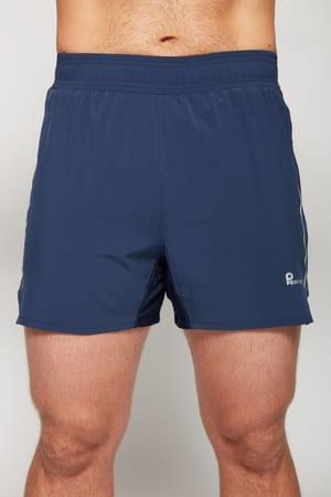 Pantaloncini in tessuto con slip interno in mesh