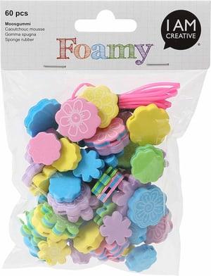 FOAMY, fiori di perle, 60 pezzi