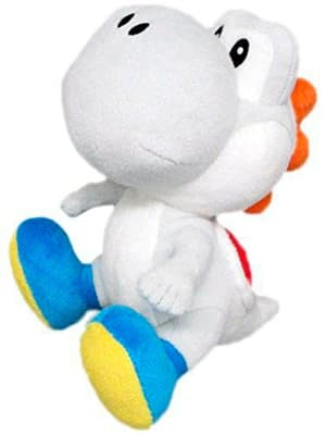 Yoshi peluche bianco