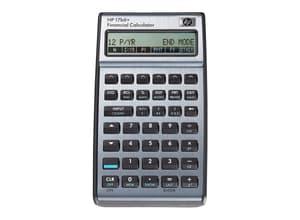 Finanzrechner D/I HP-17BII+