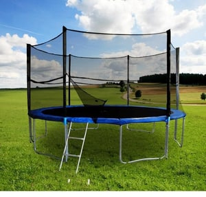 OUTDOOR TRAMPOLIN 396CM