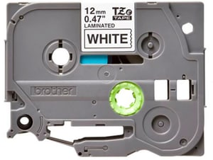 P-Touch TZe-231 ruban – noir sur blanc 12 mm large 5er Pack