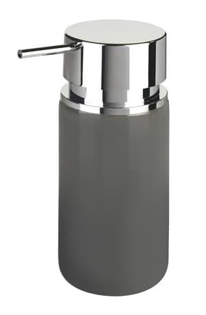 Ceramica dispenser sapone Silo 250 ml grigio/cromo