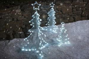 LED Acryl Tannenbaum 90cm