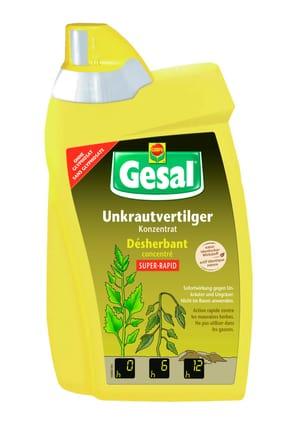 Unkrautvertilger SUPER-RAPID Konzentrat, 800 ml