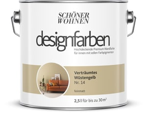 Designfarbe Wüstengelb 2,5 l