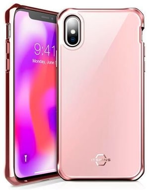 "Hard Cover ""Hybrid Glass rose pink"""