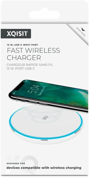 Wireless Fast Charger 15W blanc