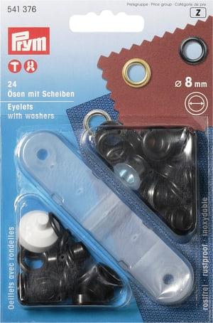 Occhielli con rondelle Ø 8mm