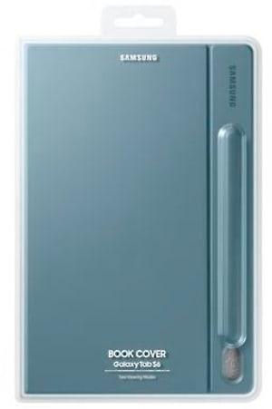 Book Cover Galaxy Tab S6 blu