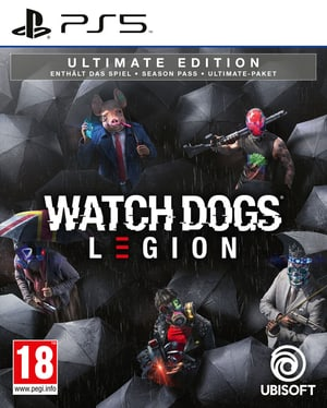 PS5 - Watch Dogs: Legion - Ultimate Edition