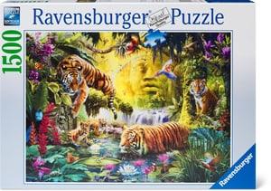 Puzzle Idylle am Wasserloch 1500