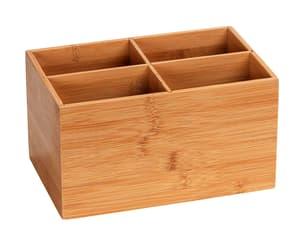 Bambus Box Terra 4 Aufteilungen 22x14x12 cm