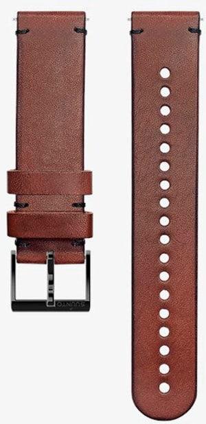 20mm Leather Strip Brown/Black M