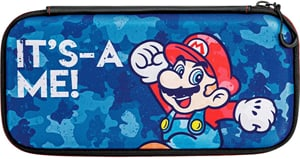 Slim Travel Case Mario Camo