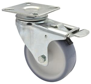 Apparate-Lenkrolle D75 mm feststellbar