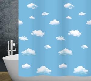 Duschvorhang Clouds