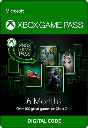 Xbox One - 6 Mois Online Gamepass