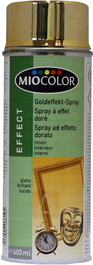 Goldeffekt Spray